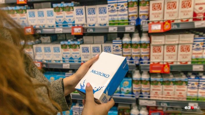 Россельхознадзор: в Самарской области торговали молоком с вредными бактериями