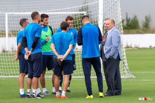 Руководство команды поставило перед футболистами амбициозные задачи в этом сезоне