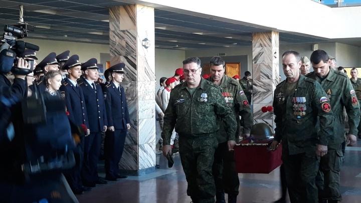 Останки солдата Великой отечественной войны нашли под Белгородом и отправили родственникам в край