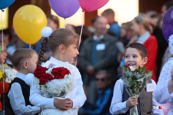 В этом году в Челябинске за парты сядут 15 тысяч первоклашек