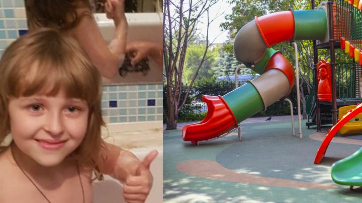 С детской площадки на Станиславского пропала 7-летняя девочка в розовой футболке