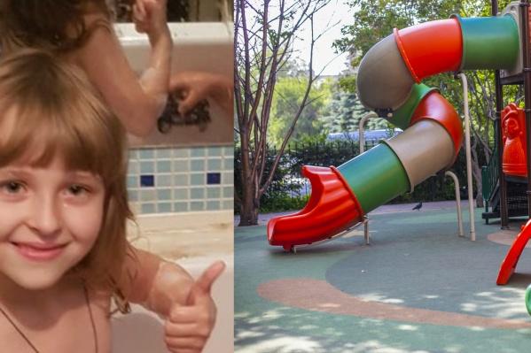 Девочка пропала примерно в 19:00 с детской площадки у дома
