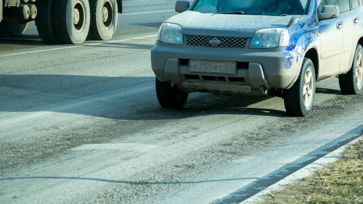 Спустя месяц после сдачи на отремонтированных дорогах пропала разметка