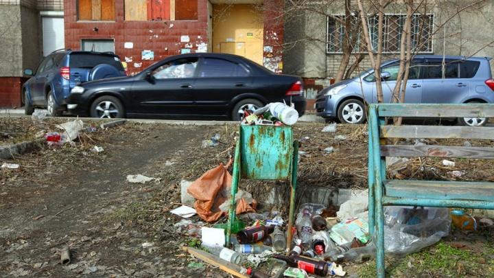 В Челябинске штрафы за мусор, незаконную торговлю и вандализм увеличили вдвое