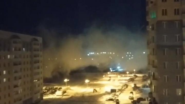 Странный дым и неприятный запах переполошили жителей Антипино