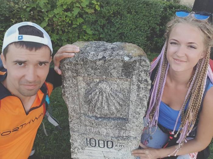 Антон Самарцев отправился в поход вместе с женой Анастасией
