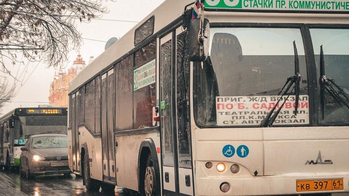 В Ростове по семи направлениям до сих пор не ходит общественный транспорт