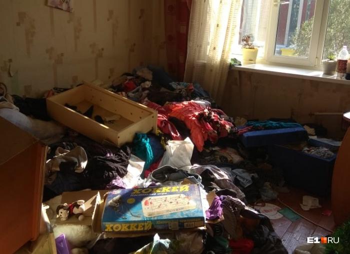 В таком состоянии оказалась квартира, после того как в ней устроили наркопритон