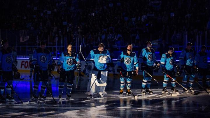 Хоккейная «Сибирь» начала матч с «Динамо» с минуты молчания в память оСамвеле Мнацяне