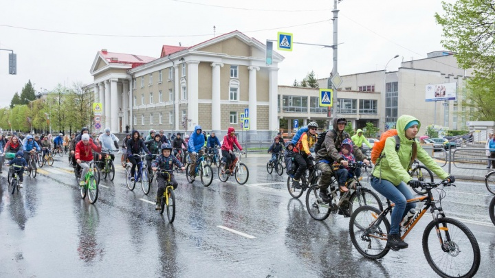 Курганские велосипедисты 26 мая проведут шестой велопарад