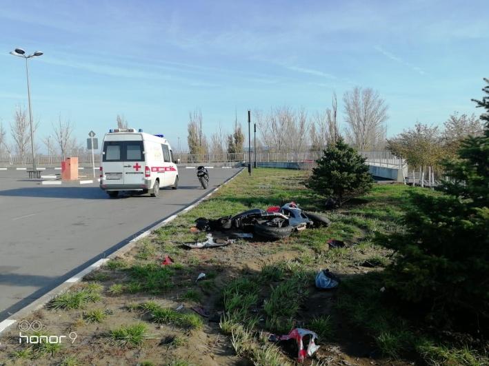 Довезти до больницы мотоциклиста не успели