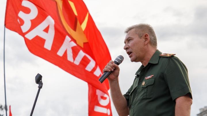 В Волгограде хоронят скончавшегося в день выборов кандидата в депутаты от КПРФ Вадима Чистякова