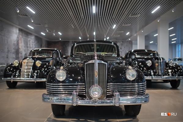 В новом автомузее в Верхней Пышме представлены кортежи четырёх лидеров СССР