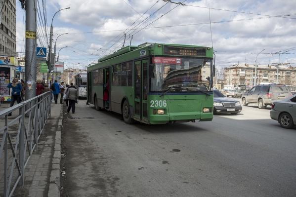 Троллейбусы выйдут на маршрут 25 октября