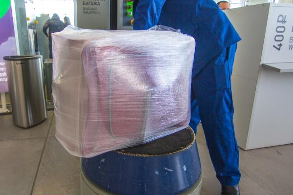Средний вес одного багажа в Курумоче составляет 13,5 кг