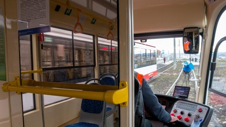 В Самаре опять сократили маршрут трамвая № 7