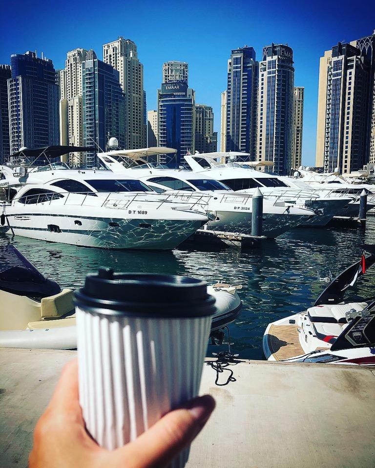 В Дубае очень красиво и безопасно