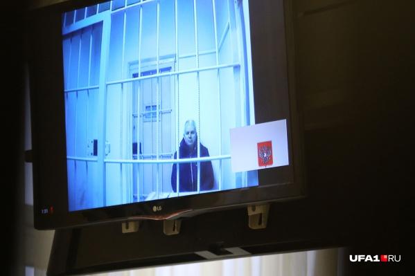 Эдуард Матвеев во время рассмотрения апелляции о замене СИЗО на домашний арест