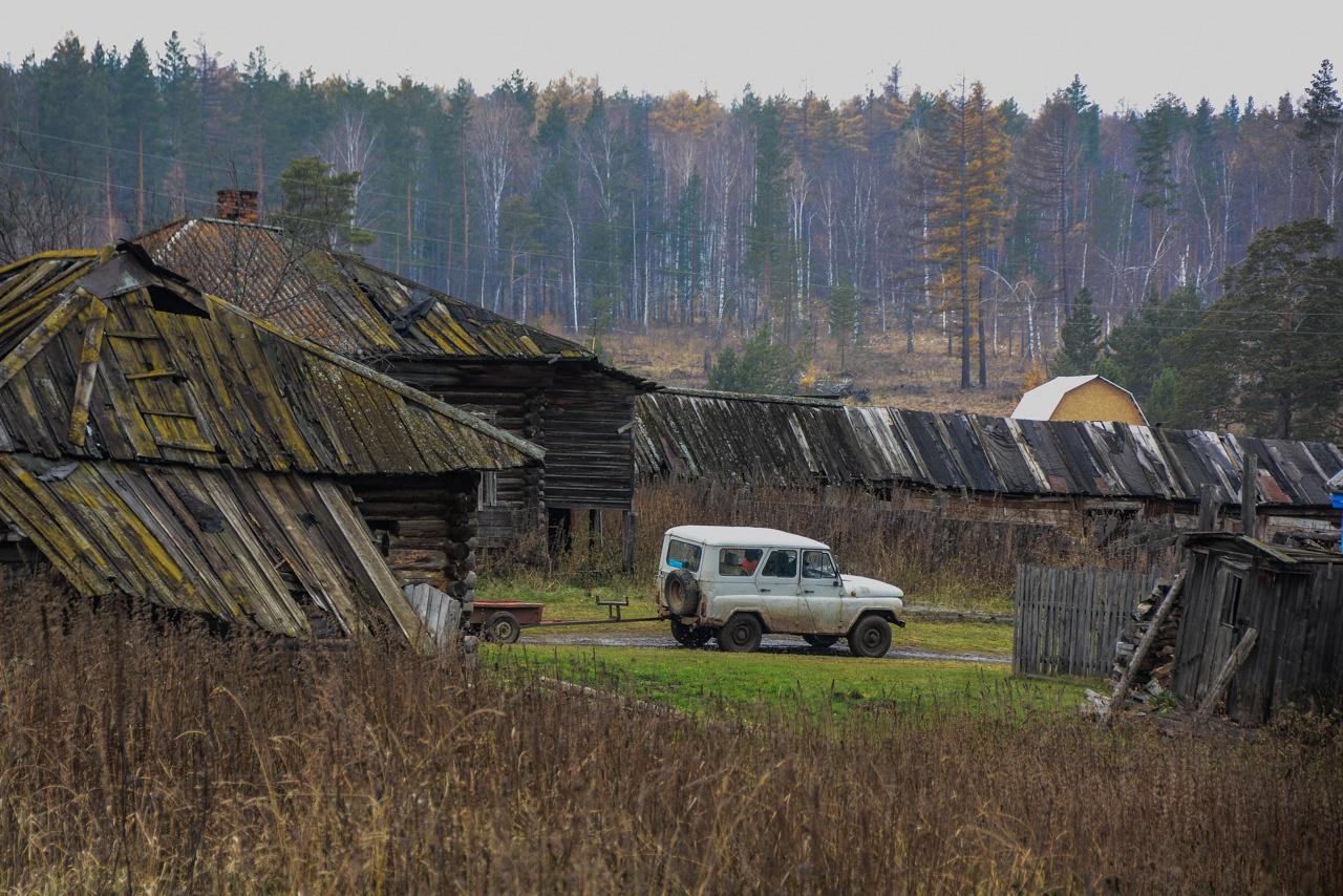 Мы заехали в затерянное село, и сразу поняли, кто уже многие годы формирует спрос на ульяновскую продукцию