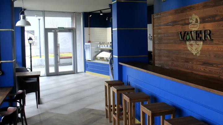 В новостройке на левом берегу открылся бар для горнолыжников