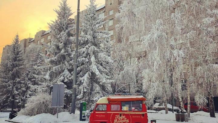 15 лучших кадров морозного Красноярска: прощаемся с холодами красочной фотоподборкой