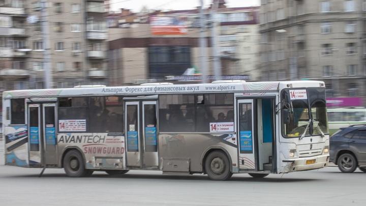 В Новосибирске водитель автобуса прочитал пассажирам стихи
