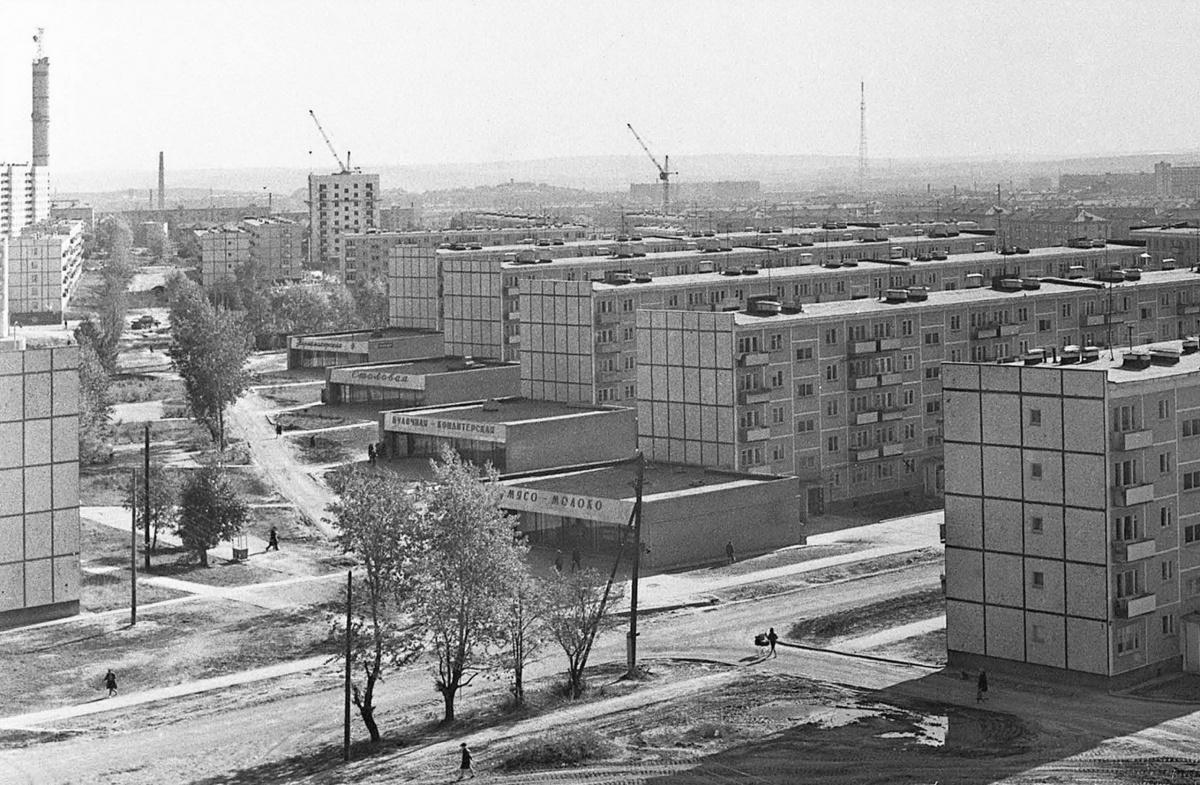 Пионерский поселок. Фото Г. Богатнаева (ГАСО)