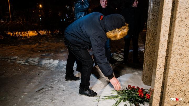 В Перми ночью почтили память погибших в «Хромой лошади»