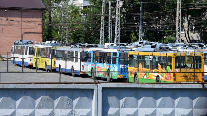 Троллейбусный маршрут № 13 закроют с субботы