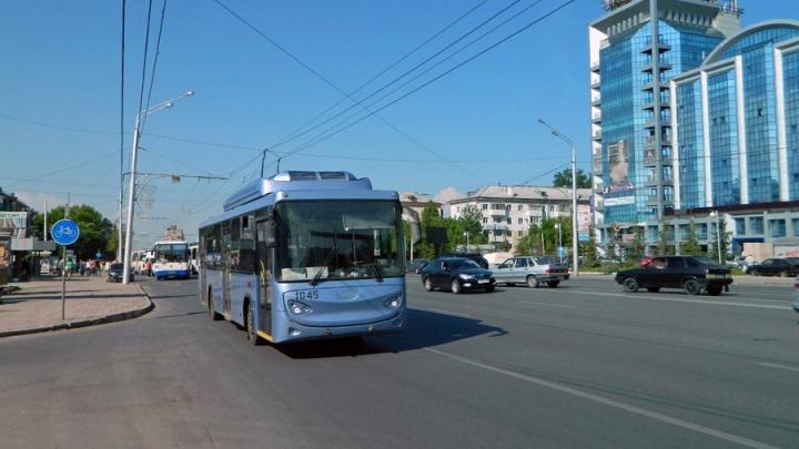 В Уфе поменялась схема движения троллейбусов