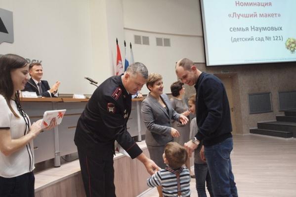 Владимир Лукашов на награждении победителей конкурса «Дорога жизни» в ноябре прошлого года
