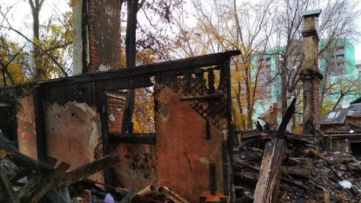 В Самаре снесут обугленные остатки многоквартирного дома на Металлурге