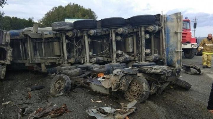 В ГИБДД заявили о росте числа аварий с грузовиками в Екатеринбурге