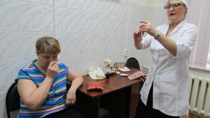 25 случаев гриппа зарегистрировали в Курганской области за неделю