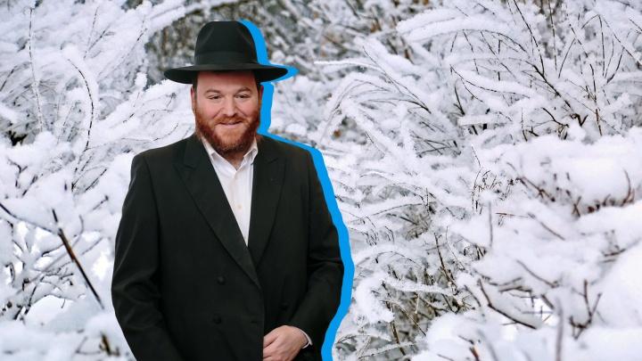 Главный раввин Башкирии увяз в снегу на кладбище и стал героем англоязычных новостей