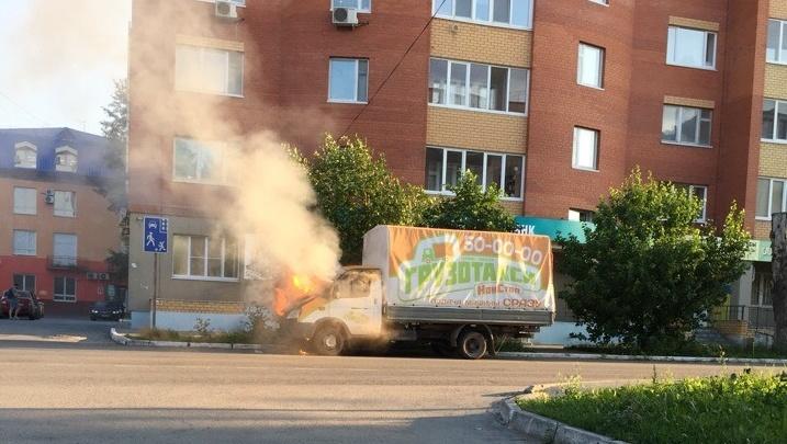 «Газель», взорвавшаяся на Тимирязева, загорелась из-за короткого замыкания