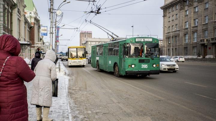Водитель, подвинься: в Новосибирске сделают новые выделенные полосы для автобусов