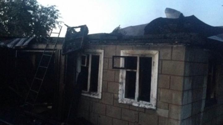 Под Уфой при пожаре в садах пострадал пенсионер
