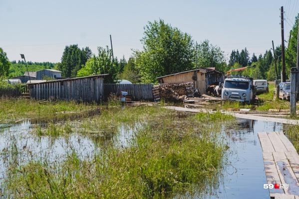 Паводок в Кудымкарском районе летом 2019 года