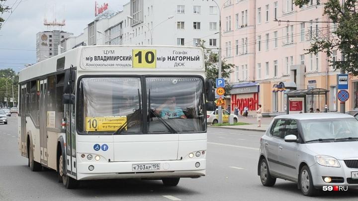 В центре Перми изменится движение общественного транспорта из-за ремонта теплосетей