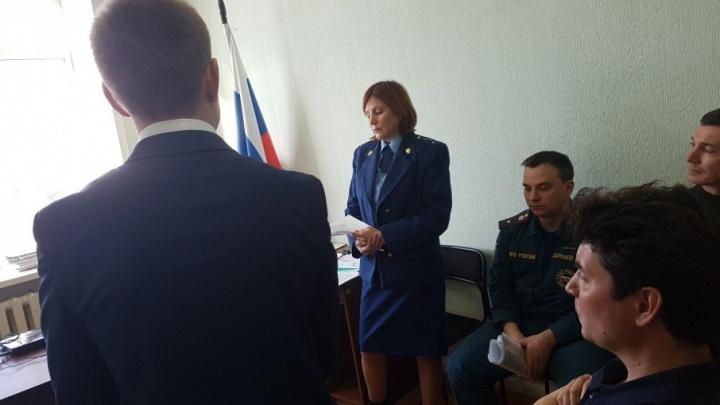 Курганский суд решает вопрос, приостанавливать ли работу торгового центра «Пушкинский»