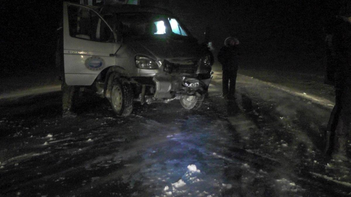 При столкновении «Лады-Калины» и ГАЗ-33104 погибли 26-летний водитель ВАЗа и его 18-летний пассажир