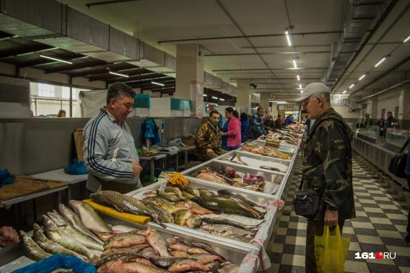 Запрещенные виды природных ресурсов продают на рынках и в магазинах