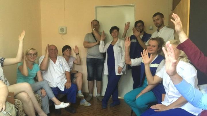 Сотрудники тольяттинской скорой помощи отложили «итальянскую забастовку»