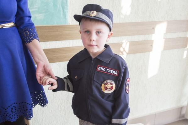 Егор Ежов признался, что мечтает работать в ГИБДД