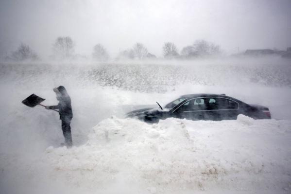 На ледовом автодроме «Суворовский» участникам экстремального ралли предстоит справляться с заносами и бороться с глубокой колеёй