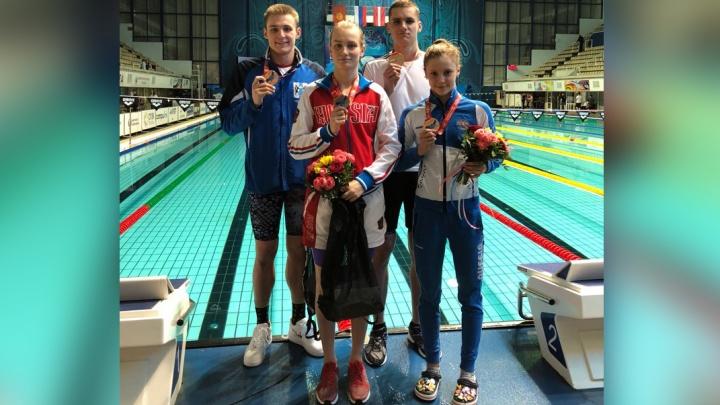 Новосибирскую спортсменку позвали на чемпионат мира по плаванию в Китай