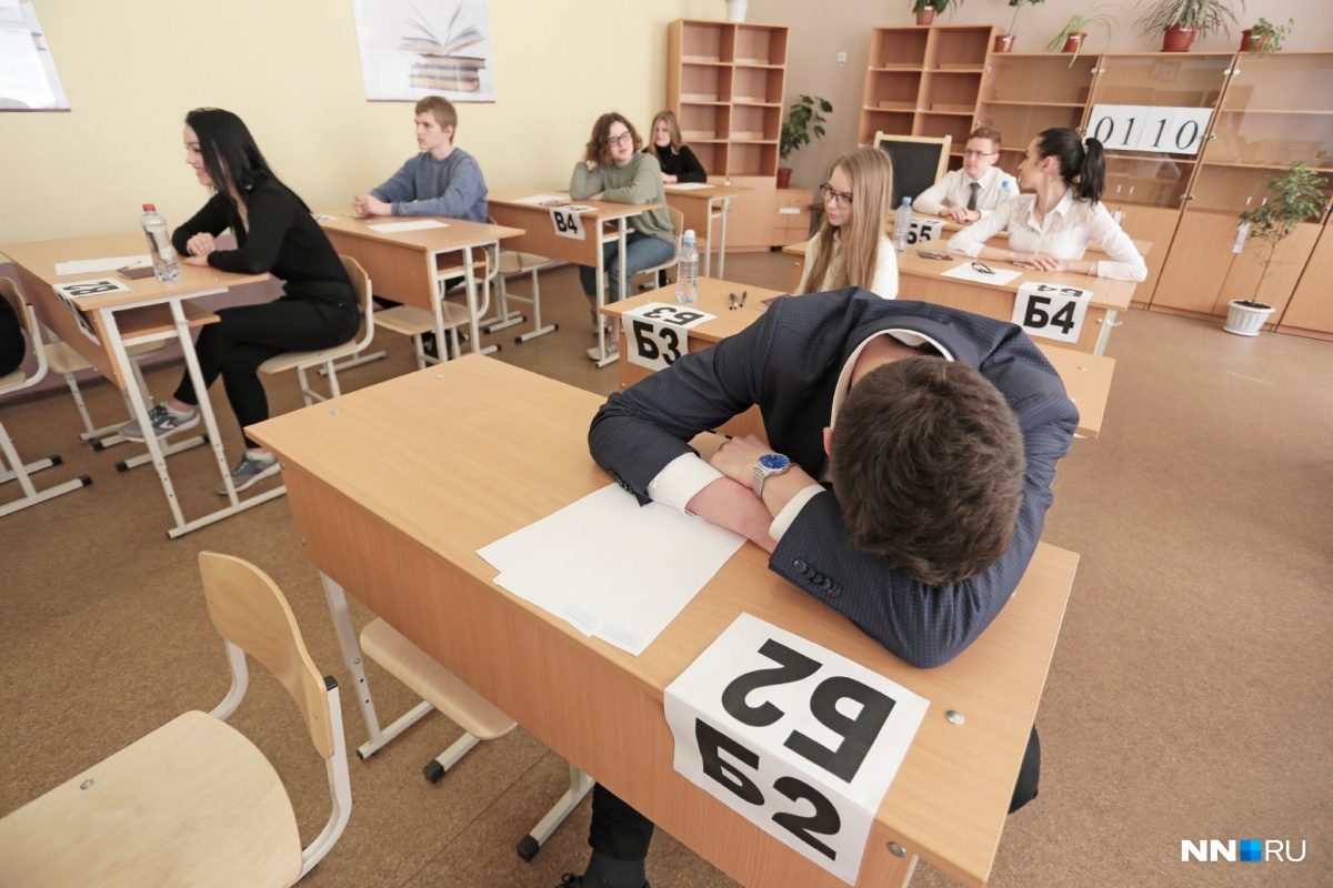 «Вода закончилась. Кололо сердце, но пришлось терпеть». Школьник — о сдаче ЕГЭ в Нижнем Новгороде