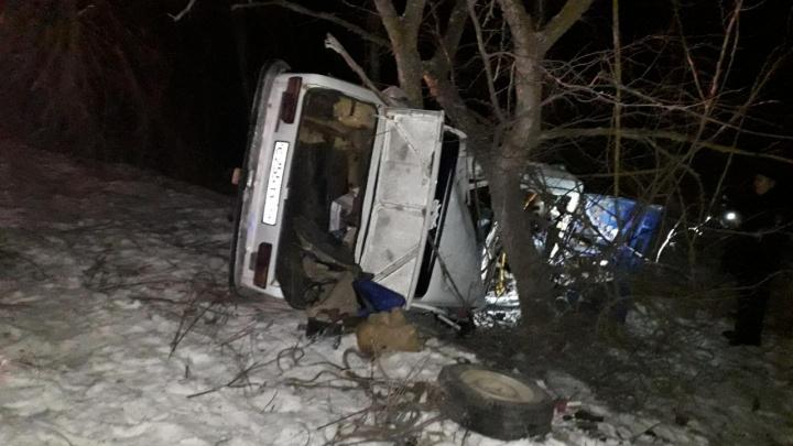 У него не оставалось шансов: под Волгоградом погиб водитель, вылетевший на дерево