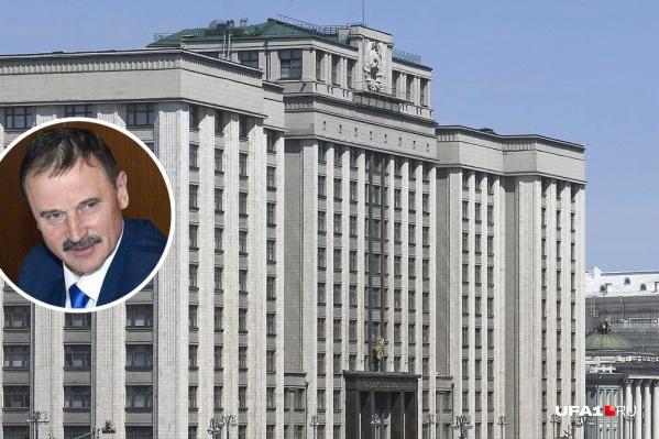 Сергей Веремеенко сейчас занимает кресло в Государственной думе